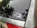 Headhunter 5-Inch Glass Sticker