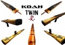 Koah Twin Roller Wood Speargun Series