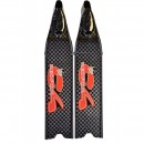 C4 Red Fox T700 Performance Carbon Fin Blades