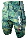 Beuchat 1.5mm Green Camo Shorts