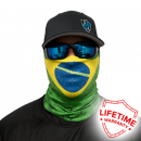 Salt Armor Brazil Flag Face Shield