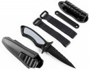 Cressi Sub Grip Spear Black Knife
