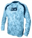 Pelagic Digital Camo Blue Vaportek Long Sleeve