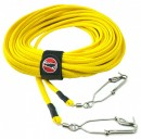 1/4 Inch Hollow Braid Float Line with Swivel Snap Clip