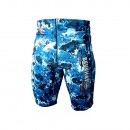 Beuchat 1.5mm Blue Camo Shorts