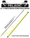 Sea Stinger Pelagic 97-Inch Polespear