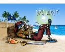 Off Duty Pirate In Paradise Flags