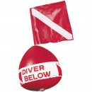 Inflatable Dive Float With Flag