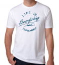 Speared Life is Spearfishing White T-Shirt