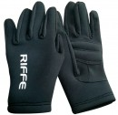 Riffe Black Amara 2mm Neoprene Gloves