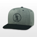 Speared Premium Icon Heather/Black Snapback Hat