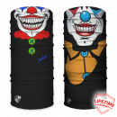 Salt Armor Clown And Twisted Face Shield