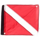 Velcro Dive Flag with Stiffener