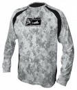 Pelagic Digital Camo Gray Vaportek Long Sleeve