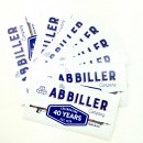 AB Biller 40year Anniversary Sticker